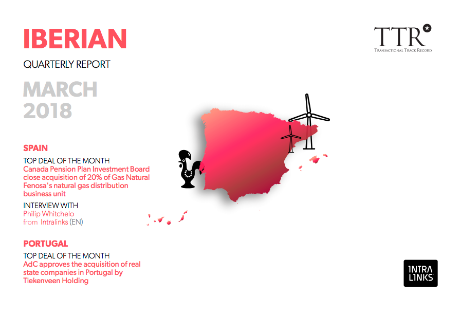 TTR IBERIAN QUARTERLY REPORT MARCH 2018