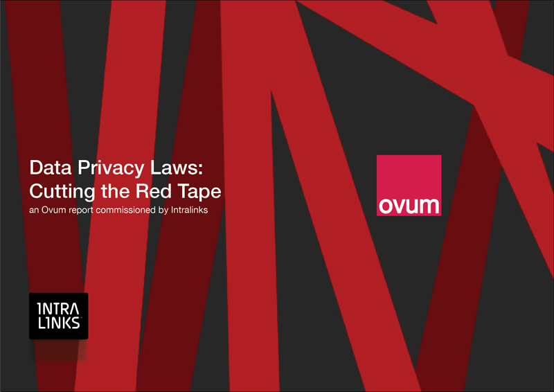 Ovum Report - Data privacy laws: Cutting the red tape