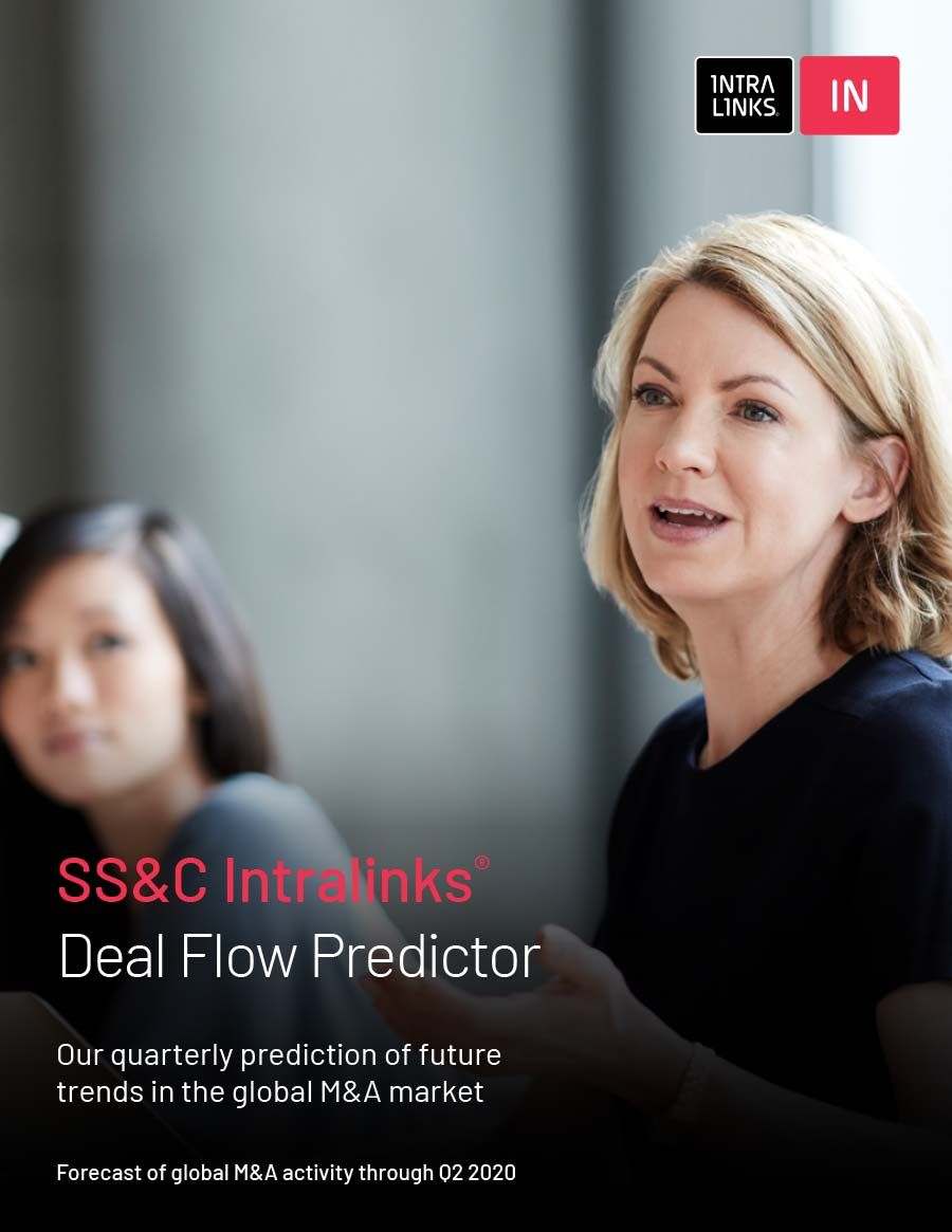 Cover of SS&C Intralinks Deal Flow Predictor Q2 2020