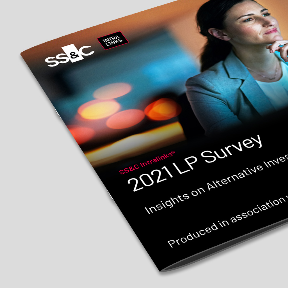 2019 SS&C Intralinks 2021 LP Survey Report cover