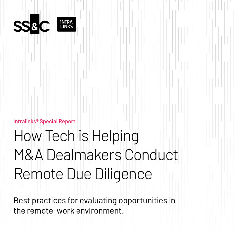 Image of How Tech is Helping M&A Dealmakers Conduct Remote Due Diligence