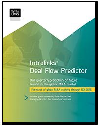 Intralinks Deal Flow Predictor