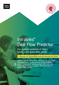 Intralinks Deal Flow Predictor