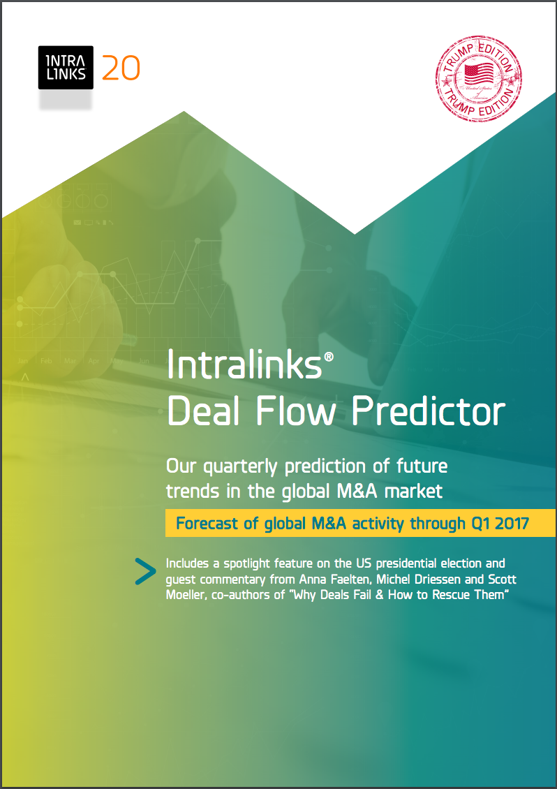 Intralinks Deal Flow Predictor for Q1 2017