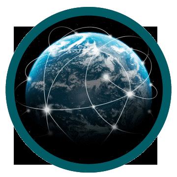 Conecte-se a uma rede global