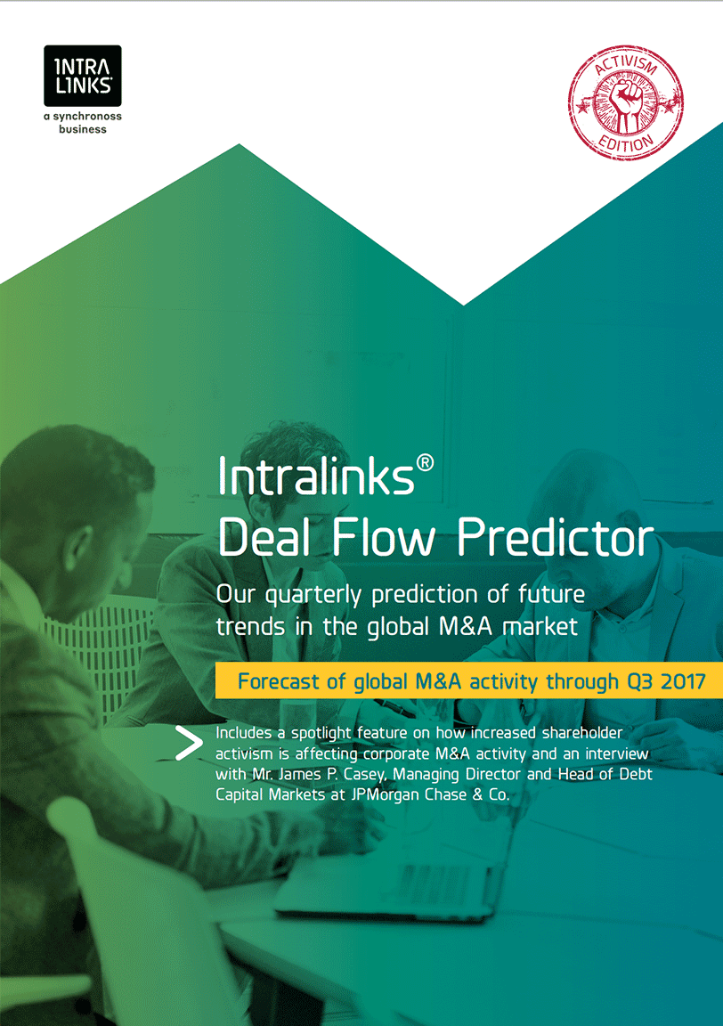 The Latest Intralinks Deal Flow Predictor Report