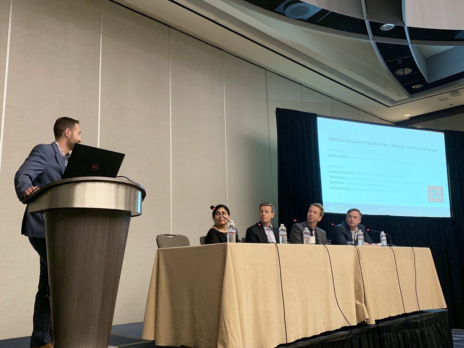 ACG SF 2019 Deal Execution Panel