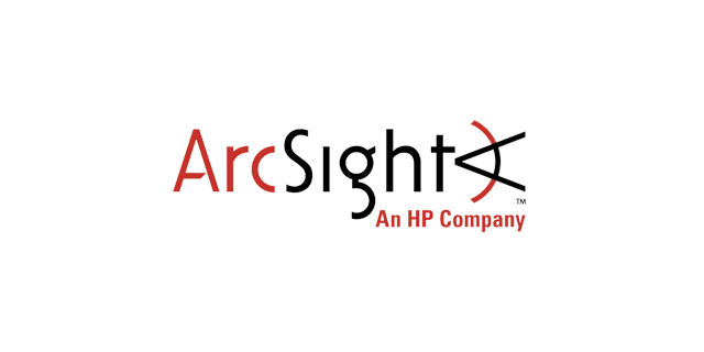 ArcSight – an HP company logo