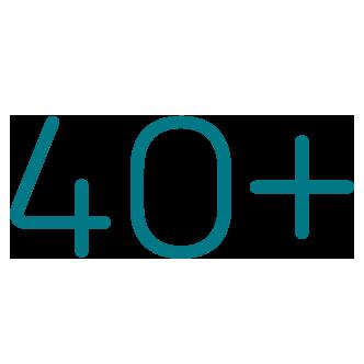 40 plus