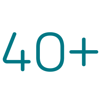 40 segmentos
