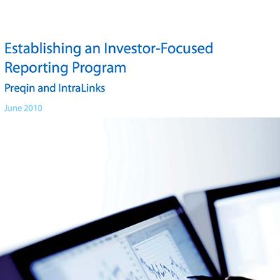 Establishing an Investor-Focused Reporting Program
