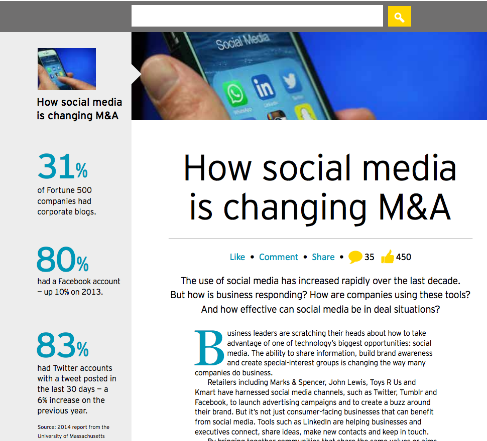 How Social Media is Changing M&A preview