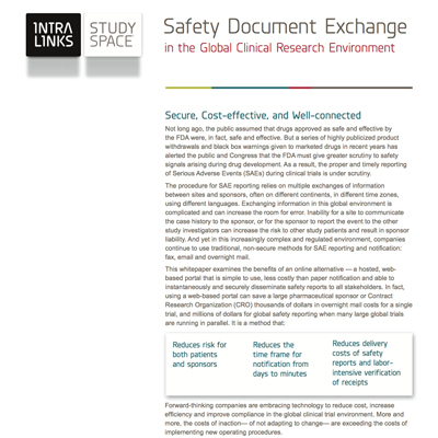 Intralinks Safety Document Exchange