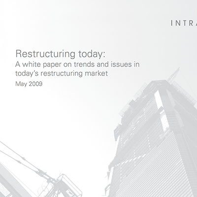 Restructuring Today white paper