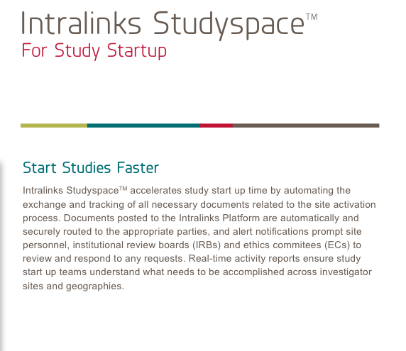 Intralinks Studyspace
