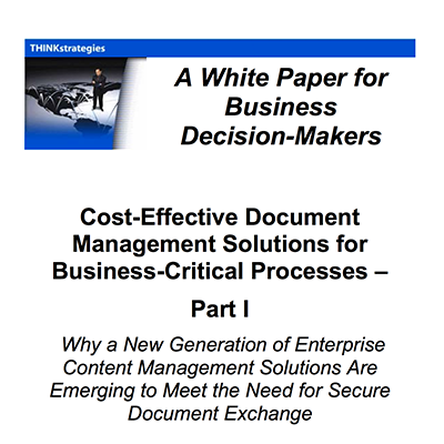 Cost-Effective Document Management Solutions for Business-Critical Processes – Part I
