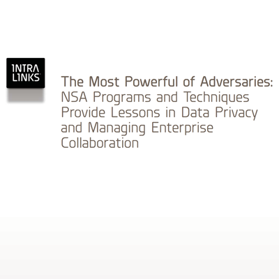 Intralinks white paper NSA programs and data privacy