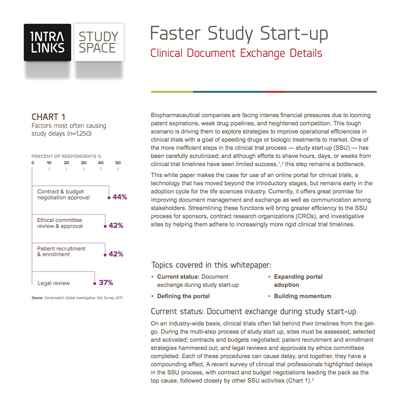 Faster Study Startup preview