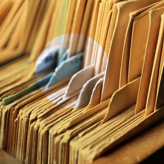 従業員ファイルの安全な管理