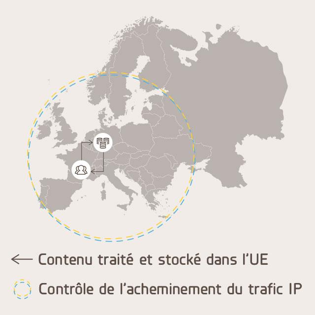 Respect de la souveraineté des données pour l'Intralinks Content Collaboration Network™