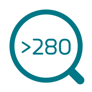 > 280