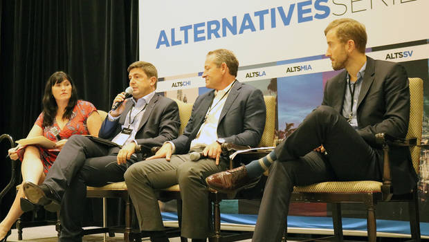 ALTSMIA Intralinks technology panel