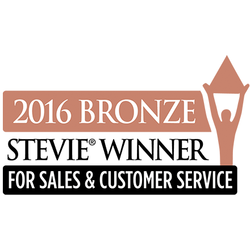 Bronze Stevie Award for Customer Service Department of the Year—Computer Software—100 or More Employees