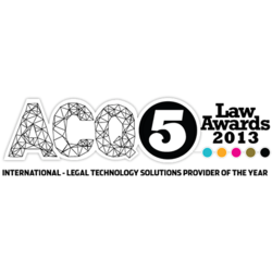 ACQ Law Award 2013: Legal Technology Solutions Provider of the Year