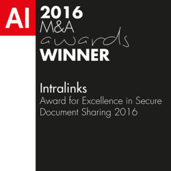 Acquisition International 2016 Award for Excellence in Secure Document Sharing