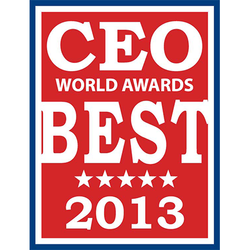 CEO World Award 2013: New Products, Upgrades and Innovations