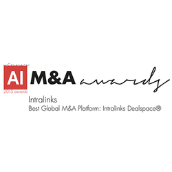 Intralinks Dealspace awarded Best Global M&A Platform