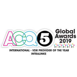ACQ Global Award 2019: International VDR Provider of the year