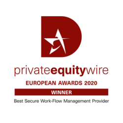 Private Equity Wire European Awards 2020 logo