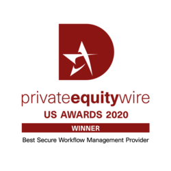 Private Equity Wire US Awards 2020 logo