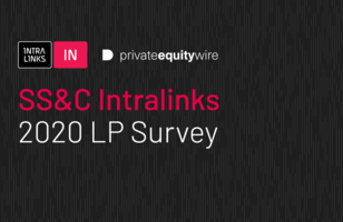 SS&C Intralinks 2020 LP Survey cover