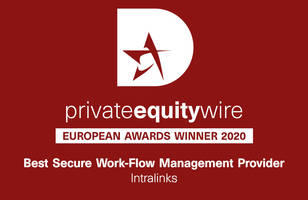 Private Equity Wire European Awards 2020 SS&C Intralinks