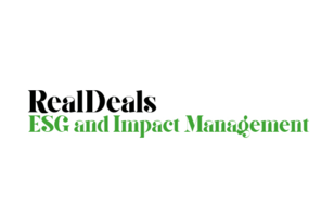 Real Deals ESG and Impact Management