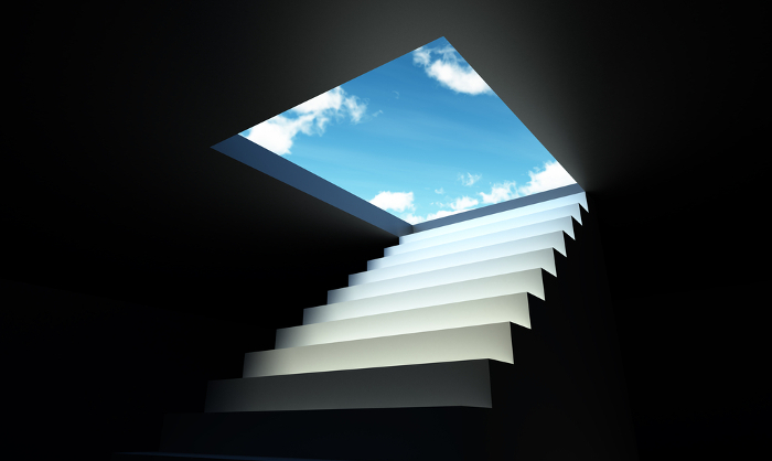 stairway to clouds