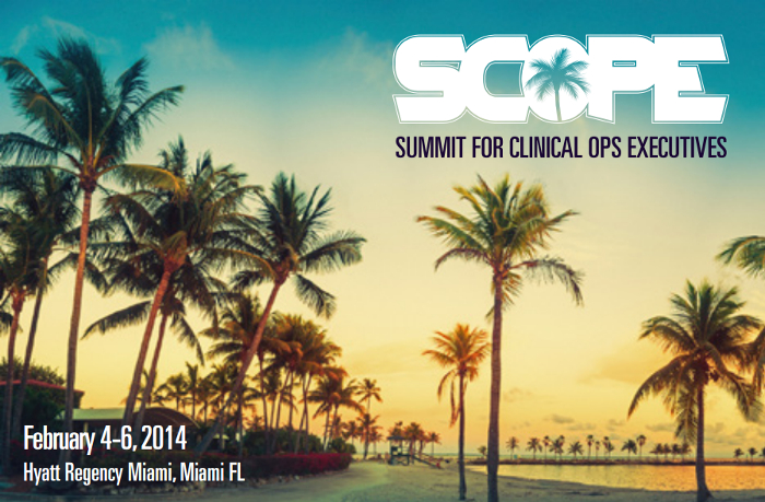 SCOPE Summit 2014 for Clinical Ops Executives